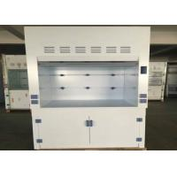 Buy cheap Waterproof PP Fume Hood With Porcelain White PP Countertops and Exhaust System from wholesalers