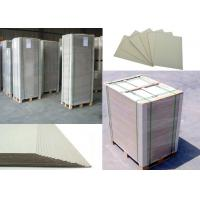 Buy cheap Anti-Curl Pressed Matte Gray Paperboard 787x1092mm for furniture used from wholesalers