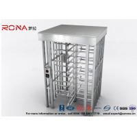 Buy cheap Indoor Or Outdoor Pedestrian Turnstile Security Systems Semi-Auto Mechanism from wholesalers