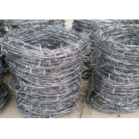 Buy cheap PVC Coated Hot Dipped Galvanized Barbed Wires from wholesalers