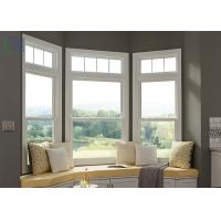 Buy cheap Economic System Aluminium Double Hung Window For Commerical Building from wholesalers