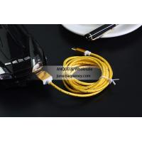Buy cheap Colorful 1.5m USB 2.0 Nylon Braided Micro USB Cable For Samsung Android Mobile Phone from wholesalers