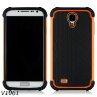 Buy cheap Robot Combo Holster Case For Samsung Galaxy S4 PC Silicone Hybrid Cover Case from wholesalers
