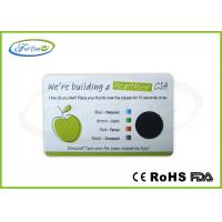Buy cheap Plastic Medical Healthy Stress Test Card / Advertising Mood Cards with Customized Printing from wholesalers