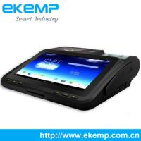 Buy cheap EKEMP(P10)Android Tablet POS Terminal with 58mm high speed thermal printer from wholesalers