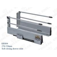 "Buy cheap 10"" Double soft closing Furniture Hardware Type Drawer slide for cabinet KRS04 from wholesalers"