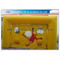 Buy cheap Popular Yellow Small Inflatable Soccer Game For Football Throwing Exercise product