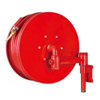 Buy cheap Red Fire Hose Reel And Cabinet Automatic / Manual Swinging Fire Water Hose product