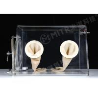 Buy cheap Lab Vacuum Acrylic Glove Box With Limiting Vacuum Degree To - 0.1 MPA from wholesalers