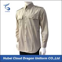 Buy cheap Durable ripstop long sleeve regular fit military tactical shirt from wholesalers