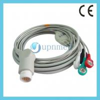 Buy cheap M1986A Philips one piece ECG cable with leadwires 12pin from wholesalers