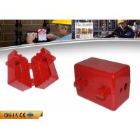 Buy cheap ABS Pneumatic Plug Circuit Breaker Lockout Available 4pcs Padlocks product