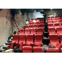 Buy cheap Crank System 4D Cinema Motion 4D Chair With 220V Electric One year Warranty product