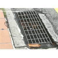 Buy cheap Vehicular Heavy Duty Steel Grate Drain Cover Silver Color I Bar Type from wholesalers
