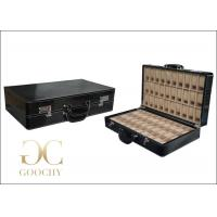 Buy cheap Carrying Crocodile Leather Watch Storage Case 60 Slots Code Lock , 2 Handles from wholesalers
