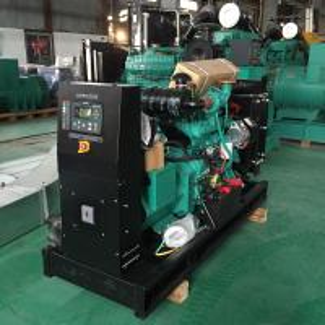 China 24KW / 30KVA Cummins Engine Powered Diesel Generator AC 3 Phase 4 Pole 415V on sale