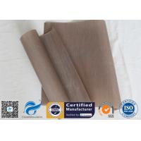 Buy cheap 0.12mm 33x40cm FDA Non Stick Silicone Baking Mat PTFE BBQ Grill Mat from wholesalers