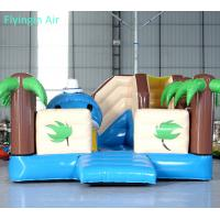 Buy cheap Customized Summer Beach inflatable Coconut Tree Bouncy Castle for Sale from wholesalers