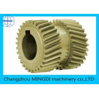 Buy cheap Customized Steel / Bronze Double Helical Gear For Agriculture Machine from wholesalers