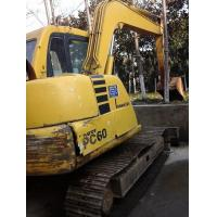 Buy cheap PC60-7 komatsu used excavator for sale excavators digger from wholesalers