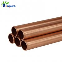Buy cheap Durable And Precise Small Brass Copper Tube Blunt End For Refrigerator from wholesalers