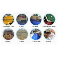 Buy cheap Fire Flame Retardant PVC Coated Polyester Fabric , Waterproof Tarpaulin Covers  from wholesalers
