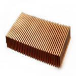 Buy cheap Aluminium Folded Heatsink with Dense fins heat sink from wholesalers