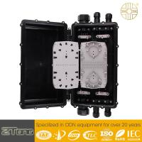 Buy cheap Straight Through Fiber Optic Junction Box Hand Hole Mounting UV Resistant from wholesalers