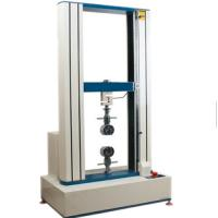 Buy cheap 0.5~1000mm / Min Tensile Tester For ABS Plastic Tensile Strength , Test Range 400mm MAX from wholesalers