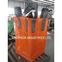 1000KGS cross corner Circular / tube big bag FIBC for granules packing