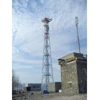 Buy cheap 20-100m Height, HDG Lattice telecom steel tower, cellphone steel tower with platforms and ladder system from wholesalers