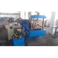 Buy cheap Hydraulic Metal Roofing Machines , Gutter Making Machine Wall Board Structure from wholesalers