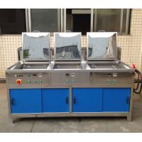 Buy cheap Wash Larger Parts 3 Tanks Ultrasonic cleaner Pallet SMT Stencil Cleaning Machine from wholesalers