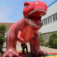 Buy cheap 2017 New Giant 7m Jurassic Tyrannosaurus Inflatable Dinosaur/Triceratops with Blower for Dinosaur Show from Wholesalers