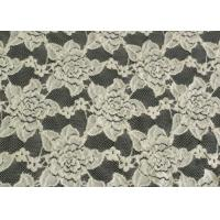 Buy cheap Custom Nylon Spandex Brushed Lace Fabric Anti Static 125cm Width CY-LQ0038 product