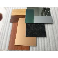 Buy cheap Pearl Green ACM Composite Panel Rigidity For Vehicle / Furniture Decoration product