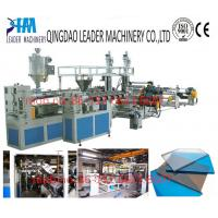 Buy cheap 2100mm width uv resistance PC polycarbonate solid sheet production line from wholesalers