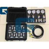 Buy cheap Excavator Hydraulic Pressure Gauge / Hydraulic Brake Pressure Gas / Pressure Portable Test Kit from wholesalers