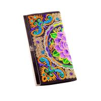 Buy cheap ethnic colorful butterfly silk metal close eadge coin purse clutch girls purse from wholesalers