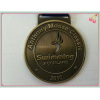 Buy cheap Custom Sport Medals with 2D & 3D design , Zinc alloy Engrave plated gold medal from wholesalers