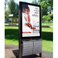 Buy cheap Custom size, material, color, quantity outdoor backlit film bus shelter advertising product