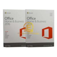 Microsoft Office 2016 Home and Business For Mac English For Windows PC , 32 / 64 Bit DVD Drive