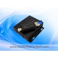 Buy cheap 4Port USB3.0 over dual or single SM/MM fiber to 250m for industrial printer/remote storage/TV wall/CCTV system from wholesalers