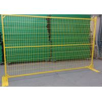 Quality High Performance Galvanized Metal Weld Mesh Fence Panels For Sporting Events for sale