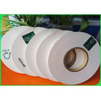 Buy cheap 28gsm FDA Biodegradable White Kraft Paper 27mm for Wrapping paper Straws from wholesalers
