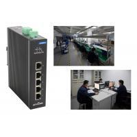 Level -4 Megabit T ( X ) 5 Port Network switch 1gbps Din rail installed