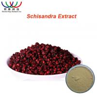 Buy cheap Safe Herbal Pure Herbal Extracts Schisandra Extract Light Yellow Powder from wholesalers