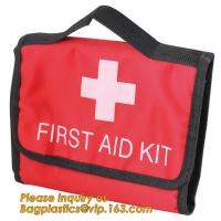 Buy cheap factory direct Wholesale Outdoor medical portable compact EVA Hard first aid kit red case,Printing logo custom empty eva from wholesalers