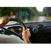 Buy cheap 3.5 Inch A2 Mini Heads Up Car Display Speed KM MPH Compass Brightness Adjustable from wholesalers