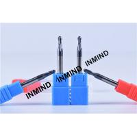 0.8um , AlTiN Coating , UPTO HRC50 ,Ball end milling cutter  R1.5  Dia 3.0mm  ,h6 tolerance